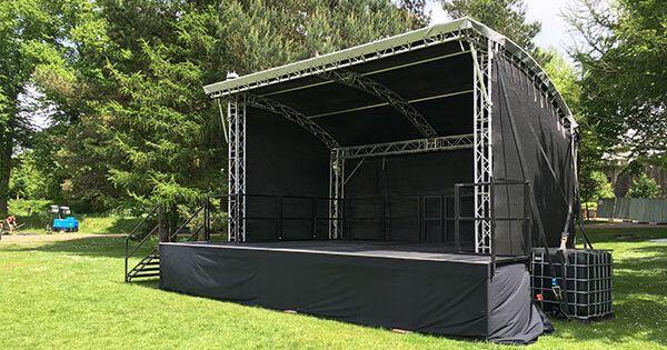 Outdoor Stage Canopy Truss Steeldeck
