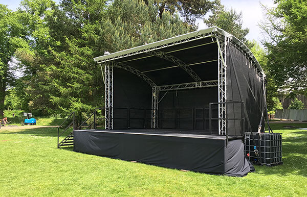 New Milos Mini MR1 Outdoor Canopy Stage