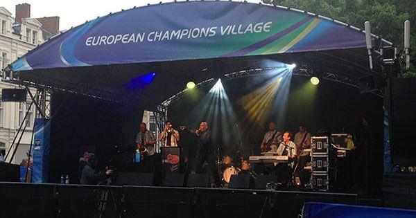 Heineken Cup European Champions Village Canopy Stage 2014