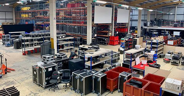 5 Years on Warehouse Stage Lighting Services
