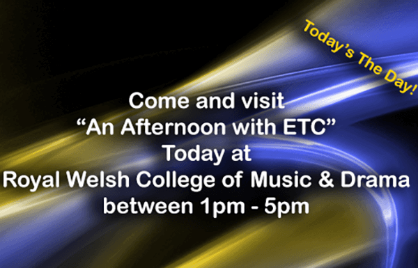 "Come and Visit ""An Afternoon with ETC"""