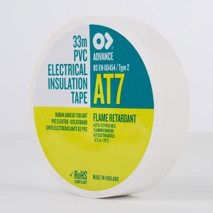 Advance AT7 PVC Electrical Insulation Tape 19mm White