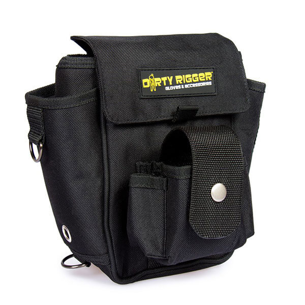 Dirty rigger Tech Pouch Front