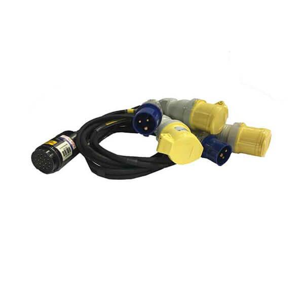 Electric Motor Cable Soca Fanin