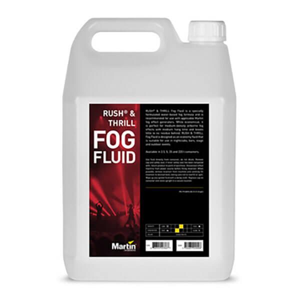 Martin rush fog fluid