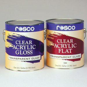 Rosco-Clear-Flat-Gloss-ACRYLIC Glaze