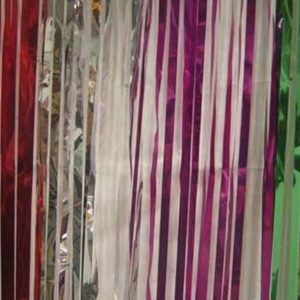 Slash Shimmer Curtain Multi