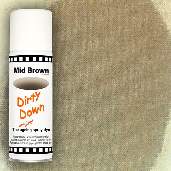 dirty down product mid brown ageing spray
