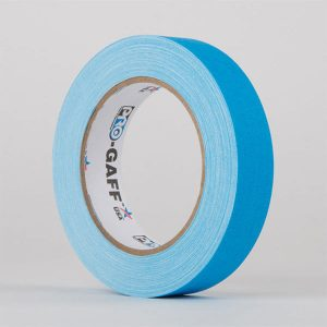 Gaffa-Fluorescent-Blue-25mm