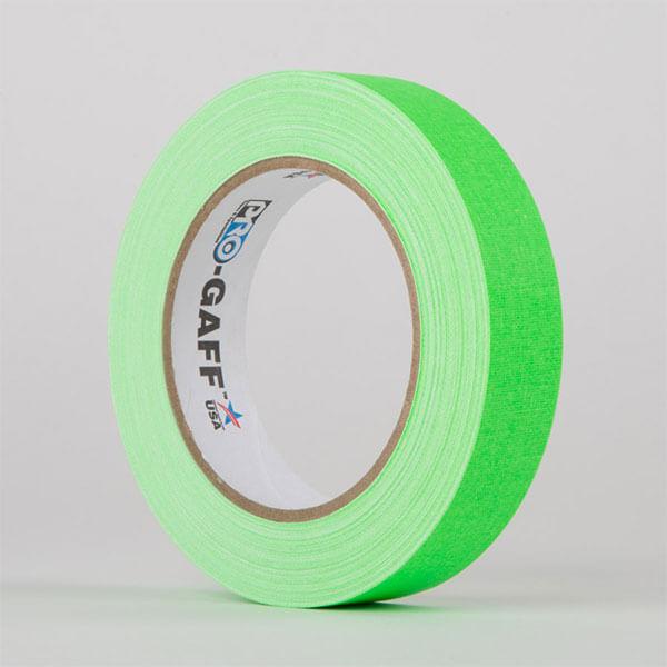 Gaffa-Fluorescent-Green-25mm