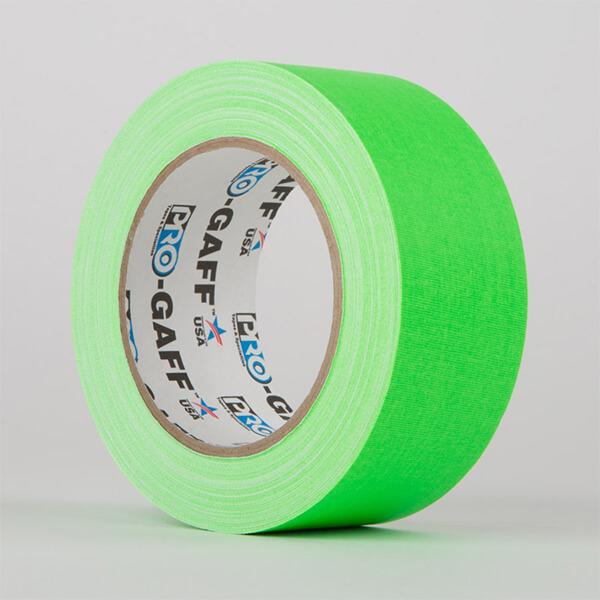 Gaffa Fluorescent - Green - 48mm