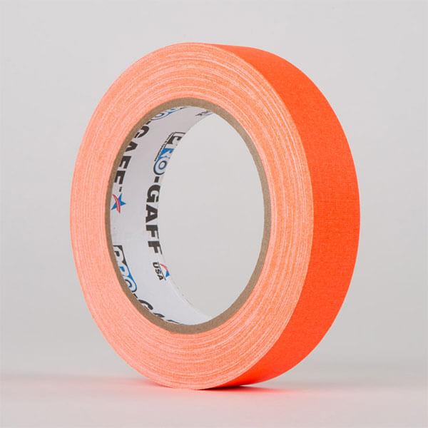 Gaffa-Fluorescent-Orange-25mm