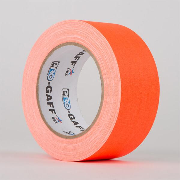 Gaffa Fluorescent - Orange - 48mm