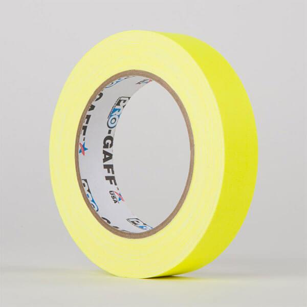 Gaffa-Fluorescent-Yellow-25mm