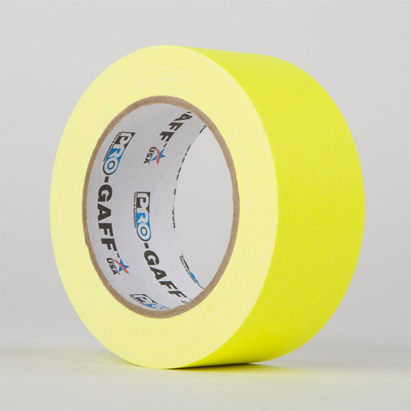 Gaffa Fluorescent- Yellow - 48mm