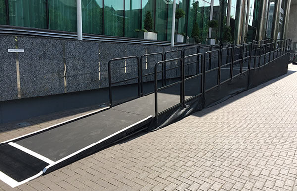 Mecure Cardiff Holland House Access Ramp 2016