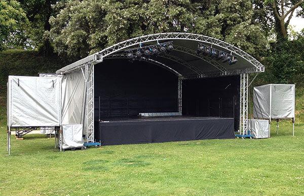 Tafwyl 2014 Canopy Stage