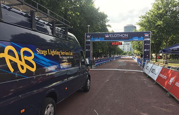 Velothon Wales Finish Line 2017