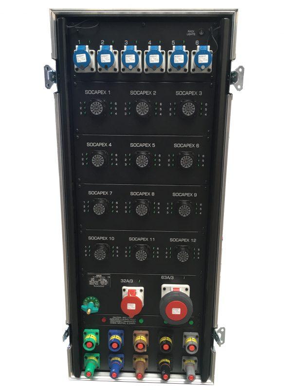 Socapex Mains Distro - 72 Way
